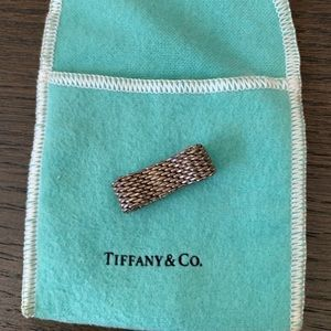 Tiffany Mesh Ring. Size 7